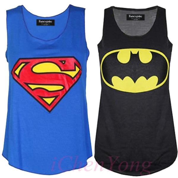 vesttop, Vest, Fashion, Superman