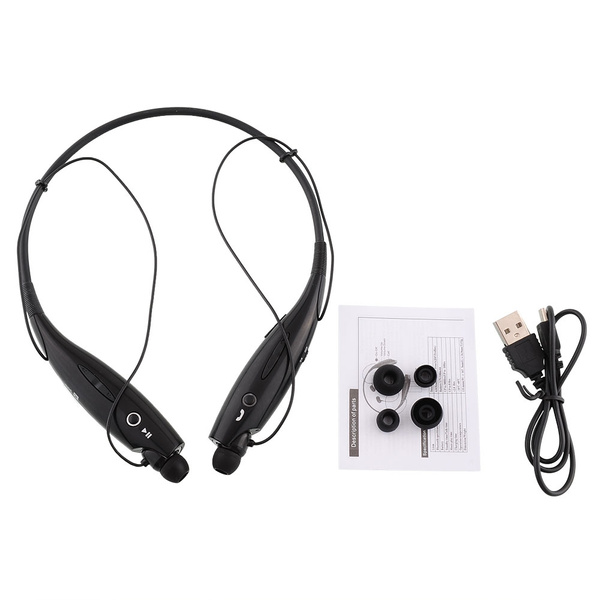 Picture of Wireless Bluetooth 4.0 Sport Running Handsfree Stereo Headset Headphone For Smartphone