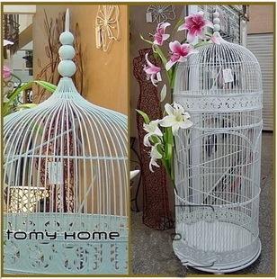 Wrought Iron Bird Cage French Birdcage Decoration Bird Cage Wedding Decoration Large