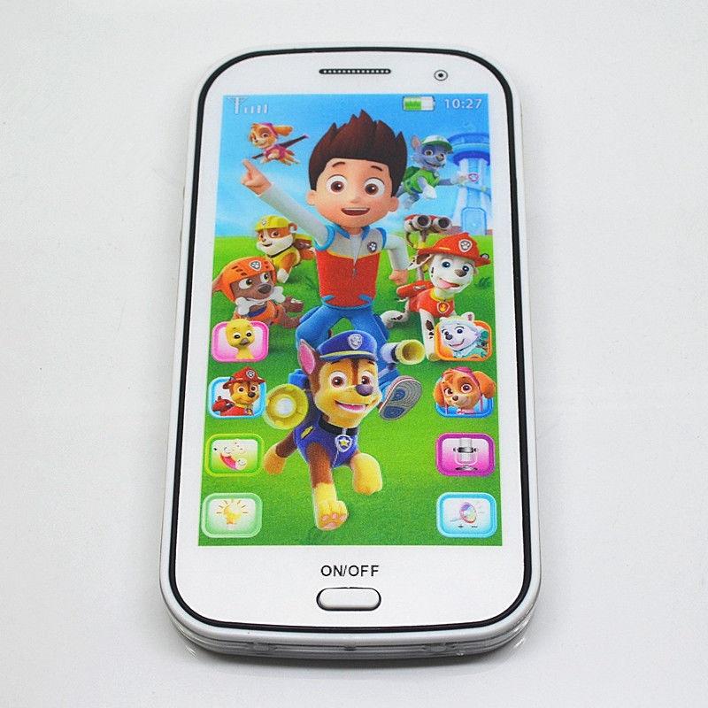Smartphone giocattolo cartone animato quot paw patrol con
