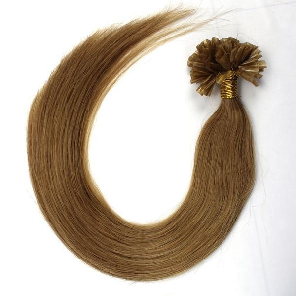Wish Womens 100s Pre Bonded Nail U Tip Keratin Fusion Real Hair