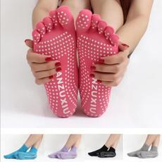 Women 5 Toes Yoga Gym Dance Sport Exercise Non Slip Massage Fitness Warm Socks