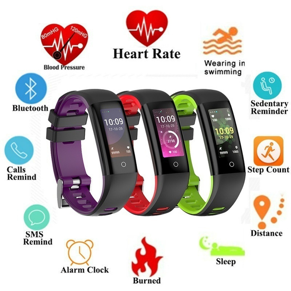 Picture of Diggro Sh07 Smart Band Bluetooth 4.0 Sports Bracelet Ip67 Waterproof Pedometer Calorie Sleep Tracker Call Reminder For Smartphone