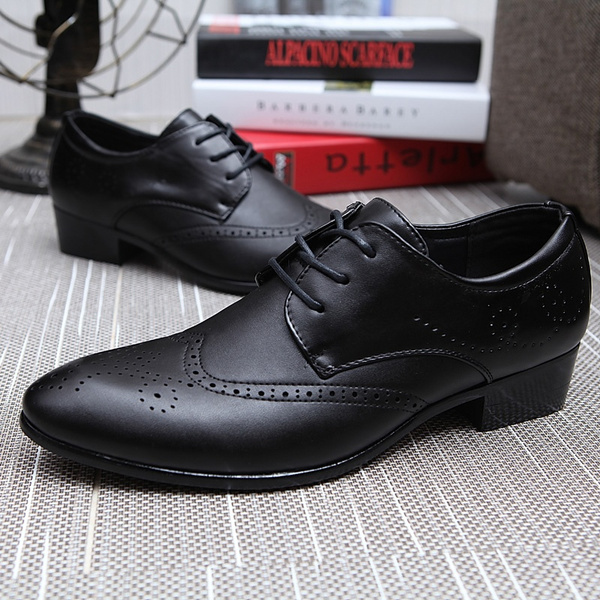 Wish Cuir Hommes Hommes Hommes Robe Chaussures d'affaires Chaussures formelles 89795a