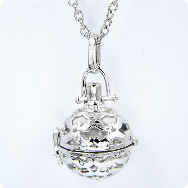 Wish homingcase locket baby angel caller pendant long necklace wish homingcase locket baby angel caller pendant long necklace harmony chime ball mexico bola relaxing musical sound 1 piece mozeypictures Choice Image