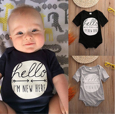 Baby Bodysuits Newborn Clothes Body Bebe Short Sleeve Bodysuites Summer Infant Jumpsuit