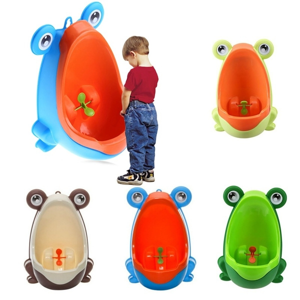 Animals Shaped Kids Baby Potty Toilet Training Urinal Boys Pee Trainer Bathroom