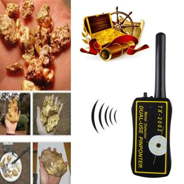 Dual-use Pinpointer XT-2002 Metal Detector Sensitive Hand Held Black/&yellow