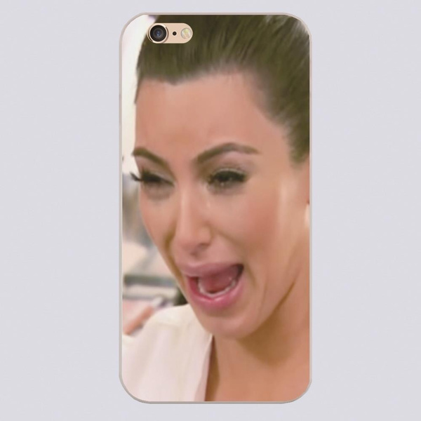 timeless design 24c1d bb64a Kim Kardashian Crying Ugly Design phone cover cases for iphone 4 4s 5c 5 5s  6 6s 6plus Samsung Galaxy s3,s4,s5,s6,note2,note3,note4,note5