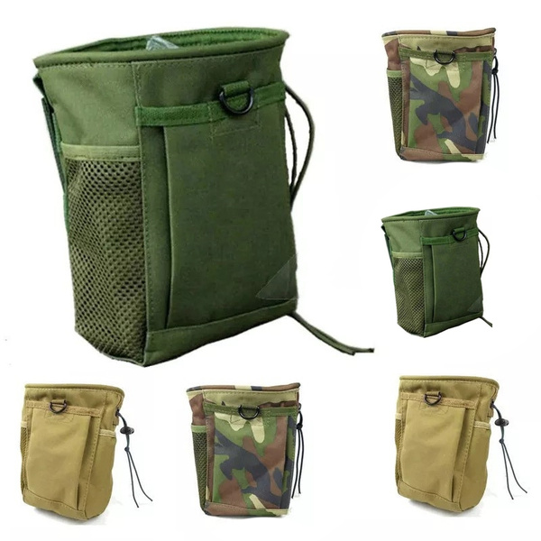 Picture of Military Molle Tactical Magazine Dump Belt Pouch Bag Utility Hunting Magazine Pouch