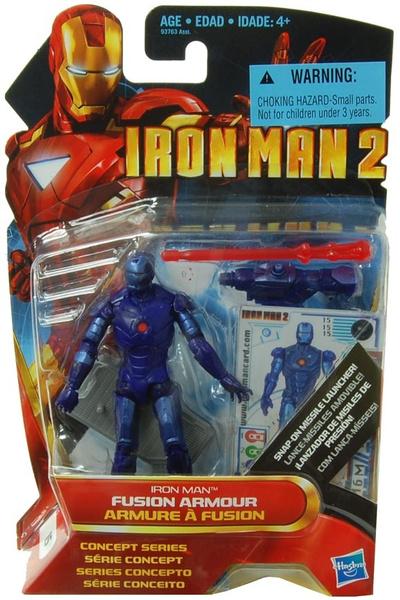 "MARVEL IRON MAN 2 Fusion Armour 3.75/"" Action Figure"