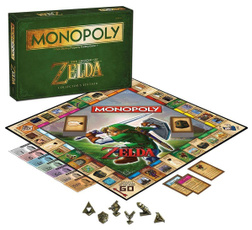 Game, Toy, monopoly, Legend of Zelda