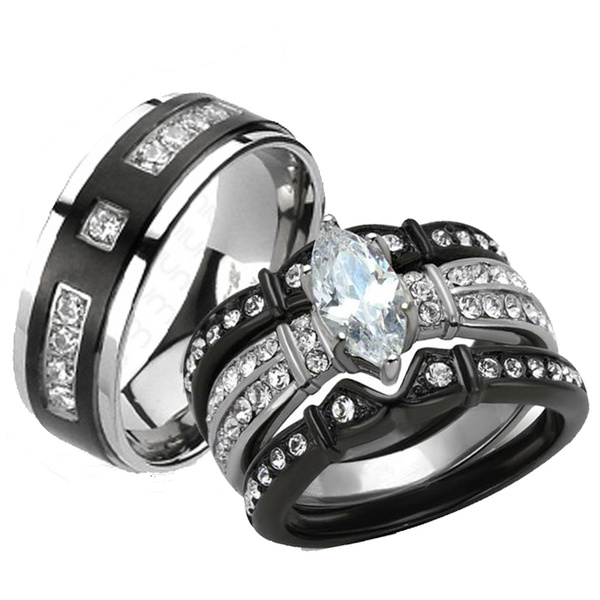 wish his and her wedding rings - His And Her Wedding Rings