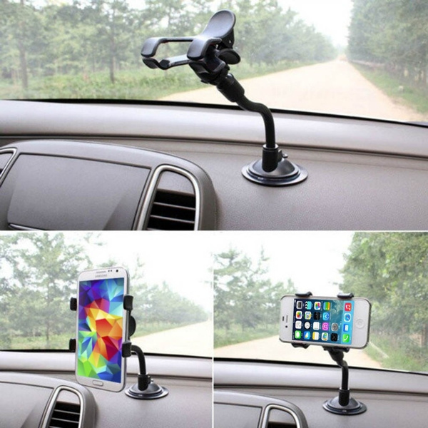 Car Mount Holder 360 degree Car Windshield Mount Cell Phone Holder