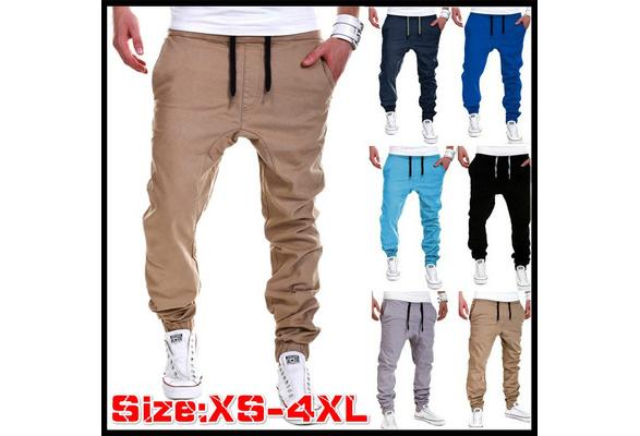 2018 High Quality Men's sport joggers hip hop jogging fitness pant casual pant trousers sweatpants M-XXL