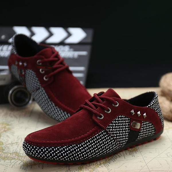 2015 Hot Sell Men Loafer Shoes Men S Fashion Suede Flat Loafers Men Casual Driving Shoes Spring Summer Casual Flats Men Loafers Wish