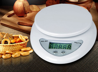 Scales, led, Weight, Food