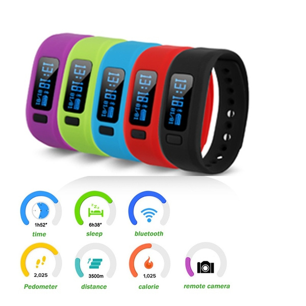 Picture of Excelvan Moving Up2 Smart Band Bluetooth V4.0 With Pedometer / Sleep Monitoring / Tracking Calorie/remote Capture Compatible For Smartphone