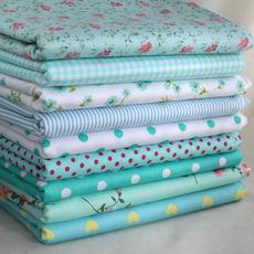 Cotton fabric, Fabric, Patchwork, Mint