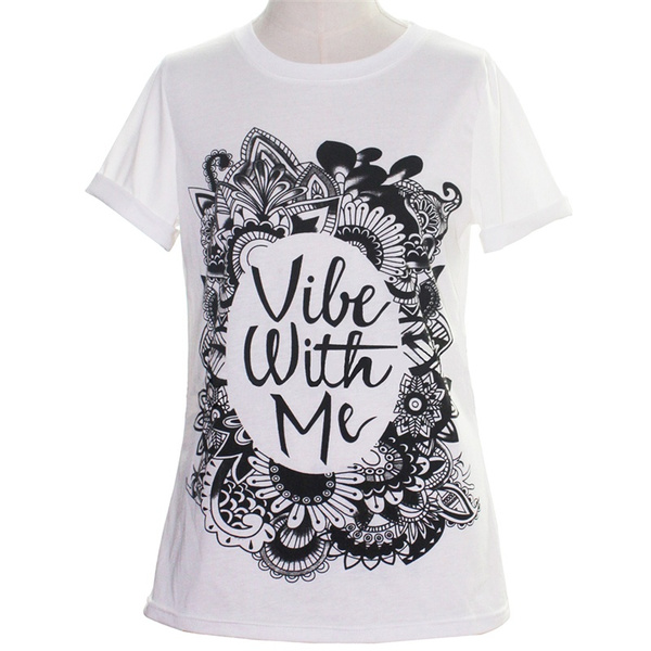 New Fashion  Casual Sexy Short Sleeve Print Women's Shirt Tops LXC