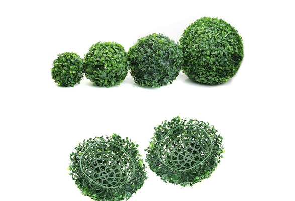 New Artificial Plant Ball Tree Boxwood Wedding Event Home Outdoor Decoration Hot MER