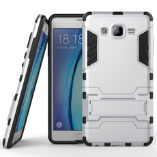 2in1 Shockproof Armor PC+TPU Back Shell Stand Case Cover Skin for iPhone 6 / 6 Plus / iPhone SE / Samsung Galaxy S6 / S6 Edge / S7 / S7 Edge / Note 4 / Note 5 / A7 / A8 / J1 / J2 / J3 / J5 / J7 / On5 / On7