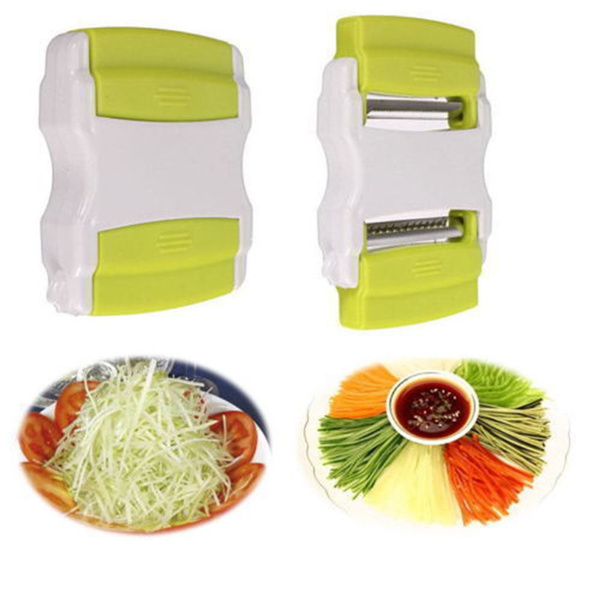 1x Vegetable Cutter Potato Carrot Peeler Fruit Slicer Shred For Kitchen autumn520