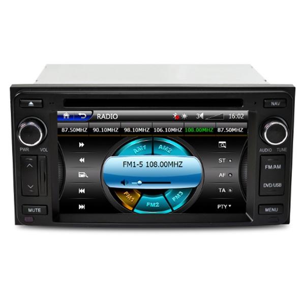 OOl5e 0422 Caska Car DVD Player Sygic GPS Navigation for Toyota Camry  Corolla Hilux Yaris RAV4 Prado Land Cruiser leechenn