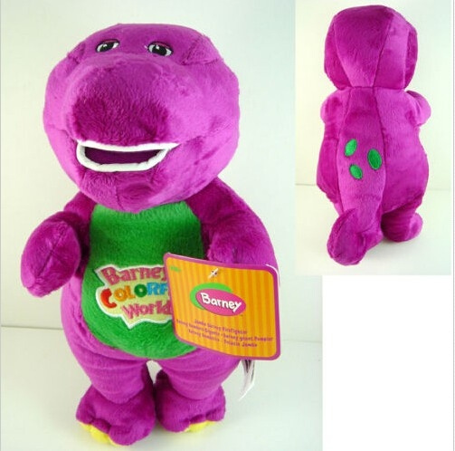 New Wedding plush doll Barney The Dinosaur Sing