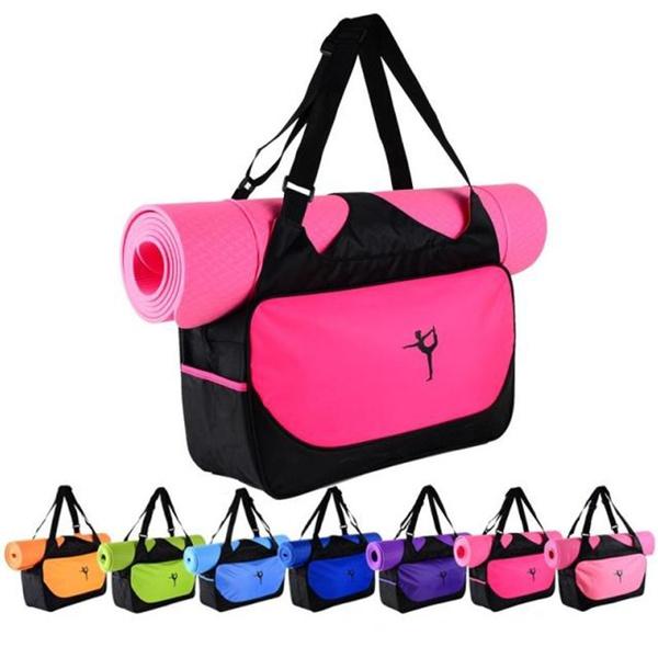 Large Yoga Mat Bags Backpack Bolsa De Deporte Mujer Gym Wish