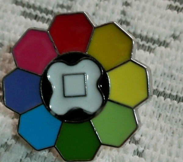 Pokemon Kanto 8 Metal League Gym Badge Pin Pip Gen Cosplay Prop Collection Set