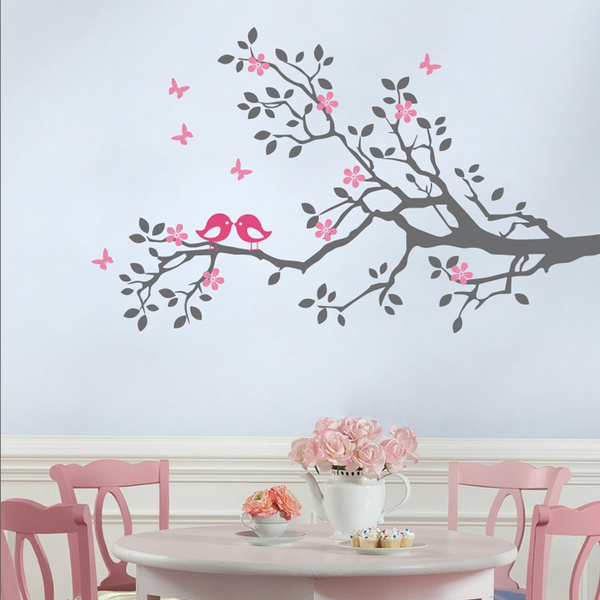 Blossom Tree Branches Flowers Erfly