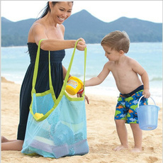 Baby Children Beach Mesh Bag Children Beach Toys Clothes Towel Bag Baby Toy Collection Nappy