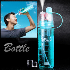 Creative Spray Water Bottle Cycling Sport Fruit Juice Bicycle Portable Moisturizing Infuser Water Cup