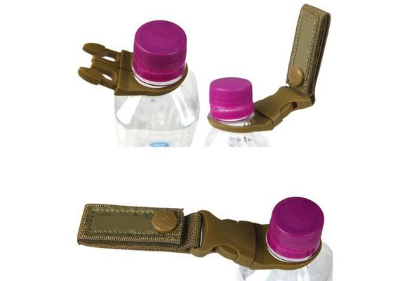 Outdoor Nylon Key Hook Webbing Molle Buckle Hanging Belt Clip Useful Carabi U4G9