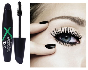WAQIA Mascara Black Waterproof Curling and Thick Eye Eyelashes Makeup