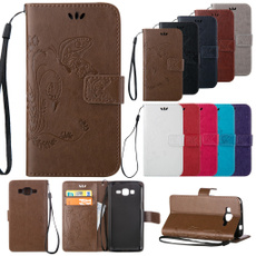 Fashion Elegant Design Embossed Flip Leather Wallet Credit Card Case Slot Cover /Hand Strap For iPhone 5 5S/6S 6/6 Plus/6S Plus/iPod Touch 5 6/Samsung Galaxy S3 S4 S5 S6 Edge Plus/S7/S7 Edge/S7 Plus/S7 Edge Plus/Note 4 5/Grand Prime/Core Prime/Alpha/Grand