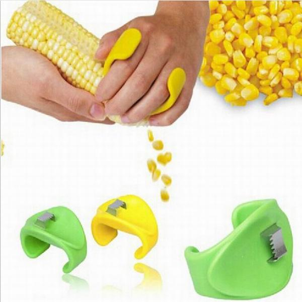 Corn peeler gadget kerneler stripping cutter Grain stripper kitchen cook  tool