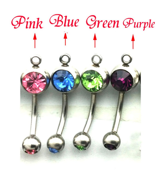 Wish Bj 0297 2016 New Fashion Despicable Me Navel Bar Belly Ring
