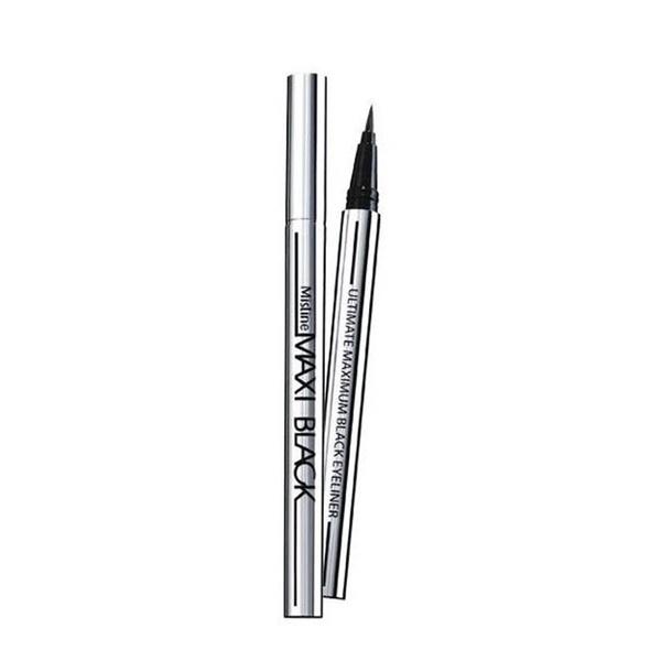 Picture of Long-lasting 2pcs Ladies Black Liquid Eyeliner Waterproof Eye Liner Pencil
