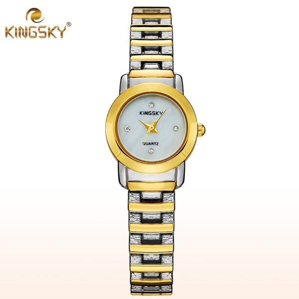 Wish Luxus Marken Frauen Uhr Art Und Kinsky Damenuhr Gold Quarz