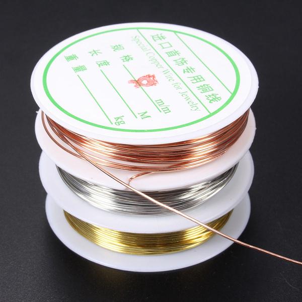 Cord, Copper, Jewelry, goldplatedwire
