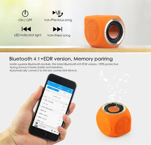 IPX7 Waterproof Bluetooth Speaker Handsfree Super Mini Wireless Shower  Speaker for Iphone Samsung Huawei