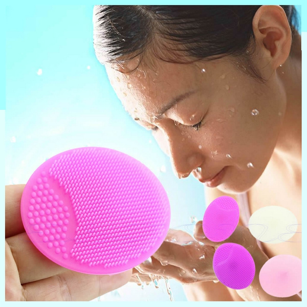 6 5cm Silicone Wash Pad Face Exfoliating Blackhead Facial Cleansing Brush Beauty Tool Wish