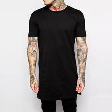 Shirt, men clothing, longstyle, Men