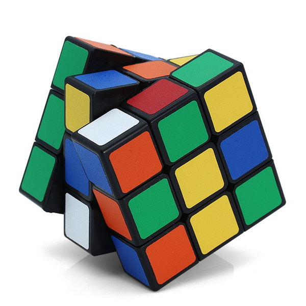 3x3x3 Magic Cube ABS Ultra-Smooth Professional Speed Cube Puzzle Twist Toy Rubik's
