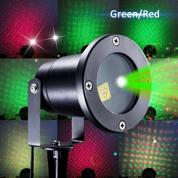 Picture of Innoolight Laser Christmas Lights Show Red And Green Ip65 Waterproof Outdoor Laser Light Projector With Remote For Christmas Holiday Party Landscape And Garden Decoration