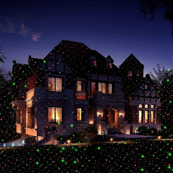 Wish new red and green firefly laser light sparkling star wish new red and green firefly laser light sparkling star projector ip65 waterproof outdoor laser christmas lights with wireless controller for holiday aloadofball Gallery