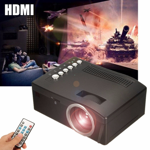 Picture of Full Hd 1080p Home Theater Led Mini Multimedia Projector Cinema Usb Tv Hdmi Tf