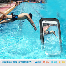 Waterproof Underwater Swimming Dive Clear Case Cover For iPhone 6 4.7 / 6S / 6S Plus 5.5 / 6S Plus 4 4S 5 5S 5G 5C SE For Samsung Galaxy S6 S6 Edge / S6 Edge Plus S7 S7 Edge S5 S4 S3 Note7 Note 5 Note 4 Note 3